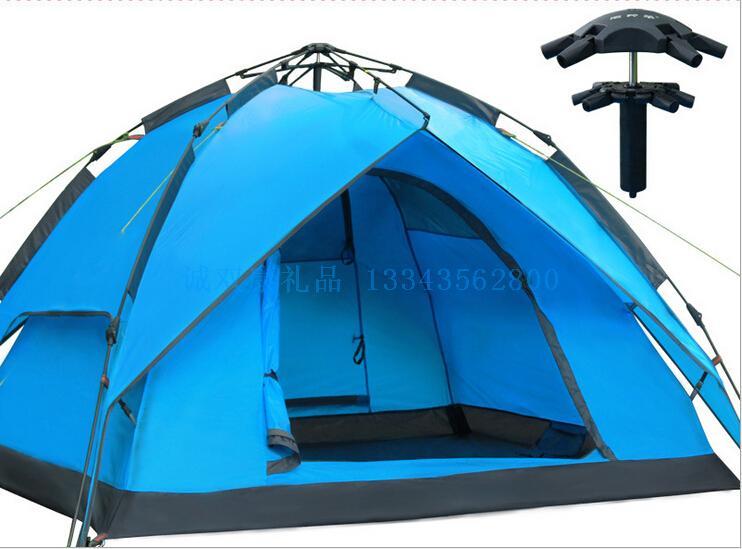3-4人自动户外旅游双层帐篷